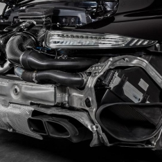 Porsche 991 Turbo / Turbo S – Black Carbon Intake