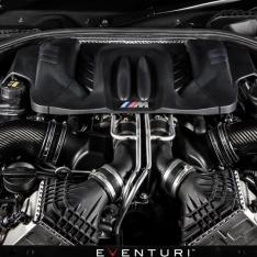BMW F1X M6 – Full Black Carbon Intake