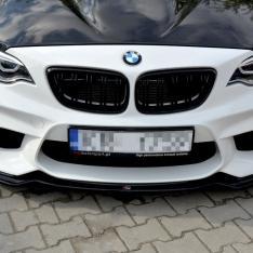 MAXTON DESIGN – CARBON LOOK FRONT SPLITTER BMW M2 (F87) COUPÉ