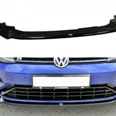 MAXTON DESIGN – BLACK GLOSS FRONT SPLITTER V.3 VW GOLF VII R (FACELIFT)