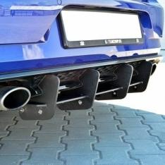 MAXTON DESIGN – BLACK GLOSS REAR DIFFUSER VW GOLF VII R (FACELIFT)