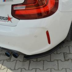 MAXTON DESIGN – CARBON LOOK REAR SIDE SPLITTERS BMW M2 (F87) COUPÉ