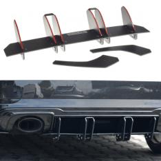 MAXTON DESIGN – BLACK GLOSS REAR DIFFUSER V.2 AUDI RS3 8V FL SPORTBACK