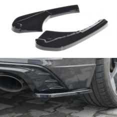 MAXTON DESIGN – BLACK GLOSS REAR SIDE SPLITTERS AUDI RS3 8V FL SPORTBACK