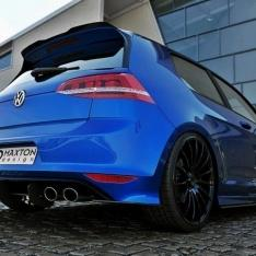 MAXTON DESIGN – VW GOLF 7 R HATCHBACK BLACK GLOSS REAR DIFFUSER & REAR SIDE SPLITTERS